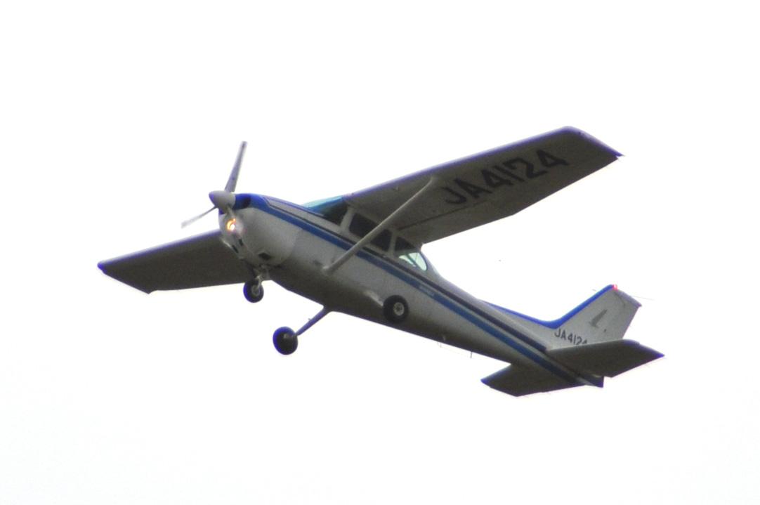 セスナで操縦訓練6
