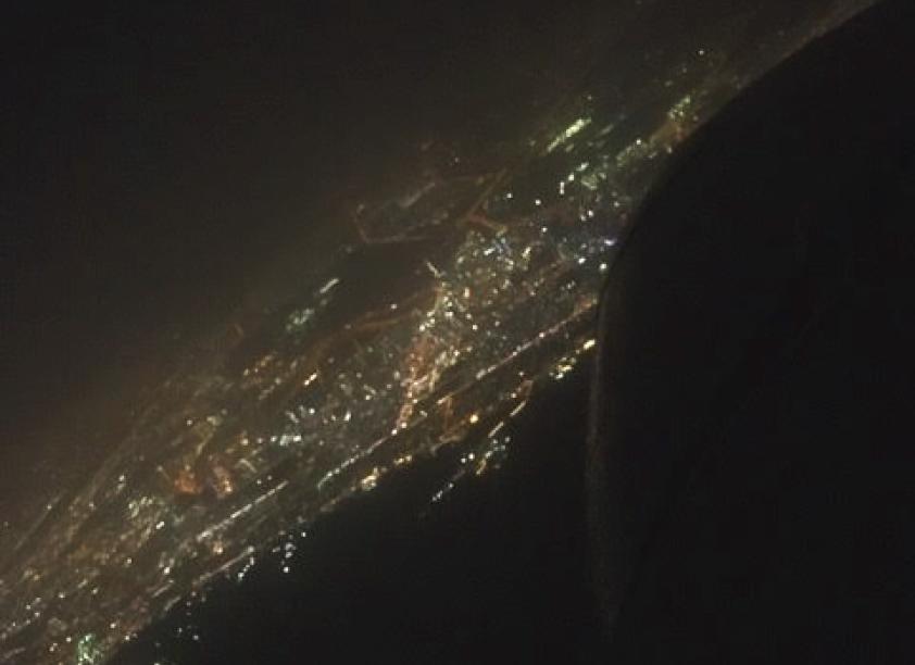 フェリー:フジャイラの夜景