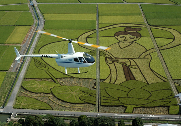 アルファーアビエィションの最新ヘリコプターR66