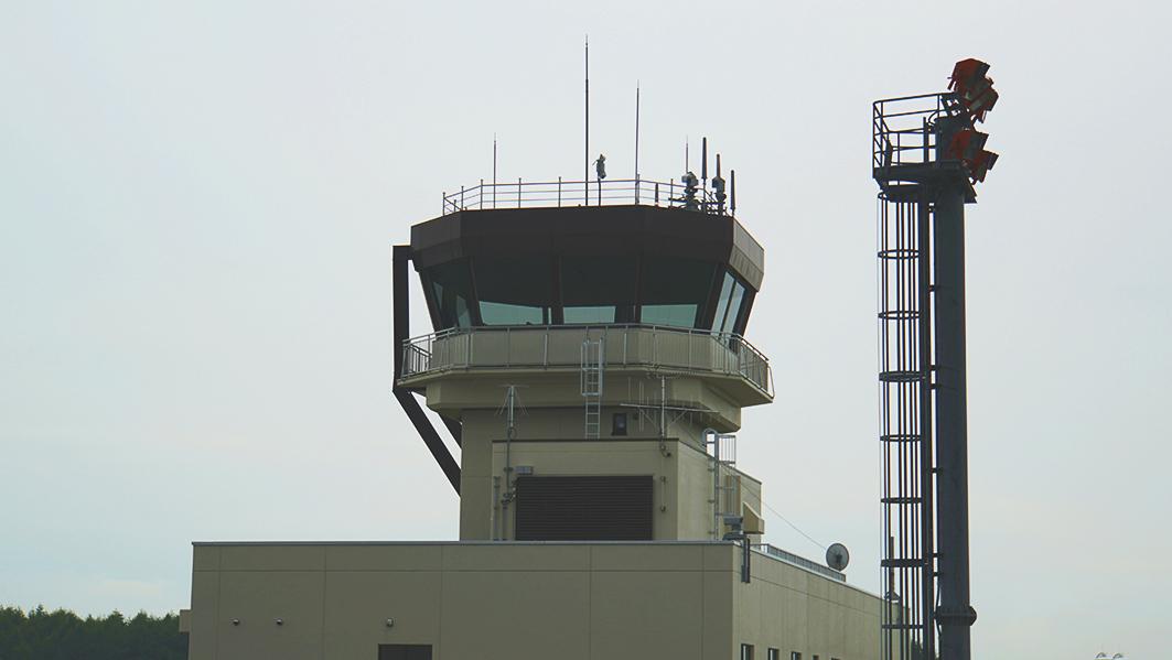 中標津管制塔