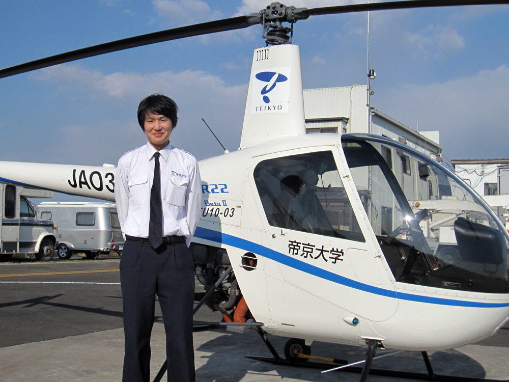 事業用ヘリコプター操縦士実地試験合格