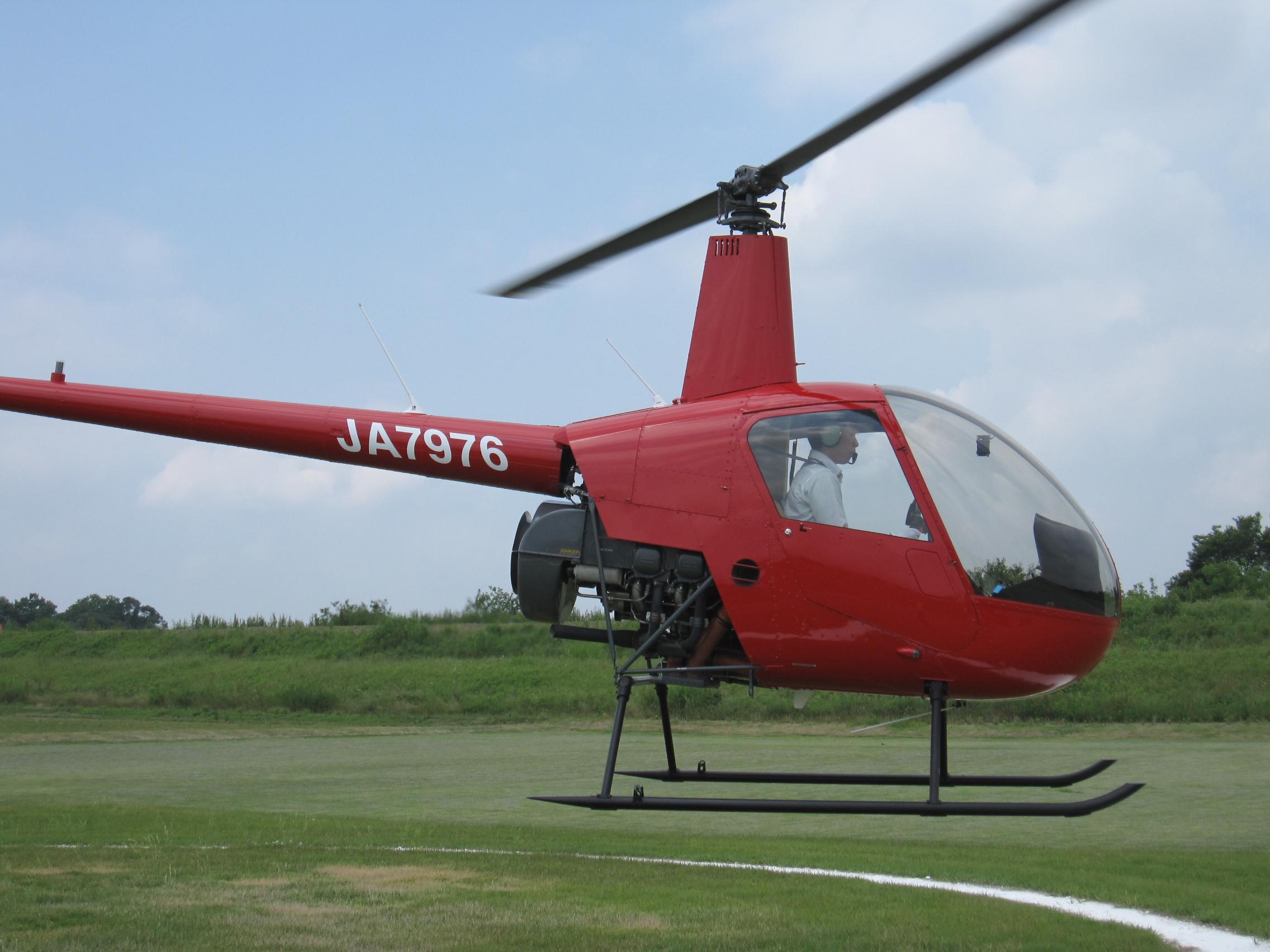 ヘリコプターで夢の単独飛行を実施!(2019.06.19)| アルファーアビエィションヘリコプターで夢の単独飛行を実施!(2019.06.19)