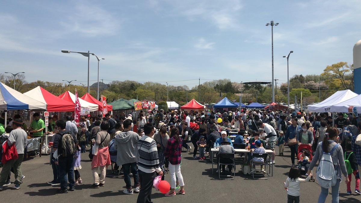 春の福島空港祭り1
