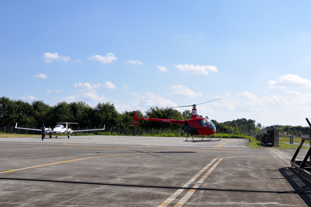福島運航所への航法訓練2