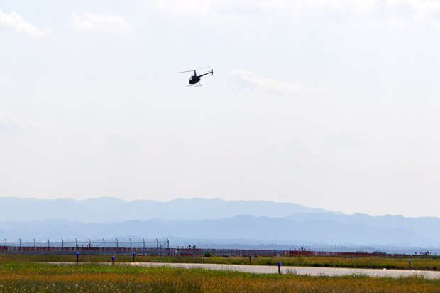 福島運航所への航法訓練4