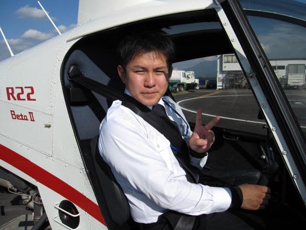 自家用ヘリコプター操縦士の実地試験に合格