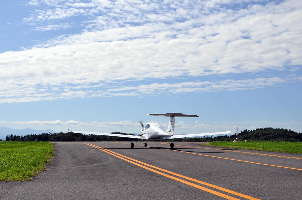DA40の飛行訓練2