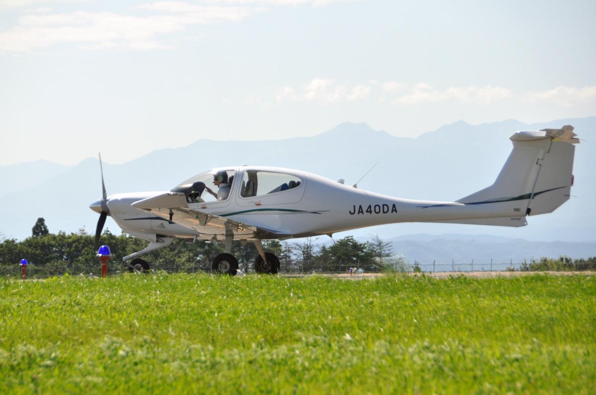 DA40の飛行訓練3