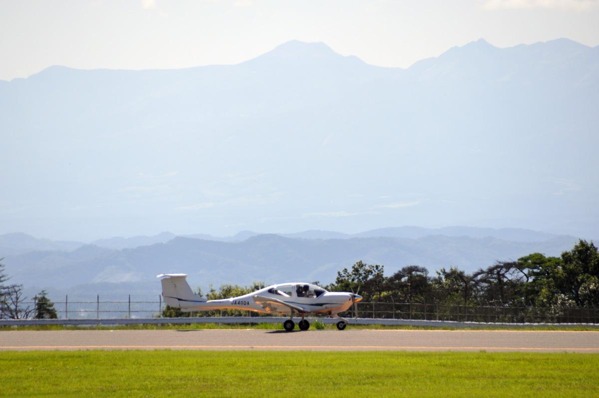 DA40の飛行訓練4