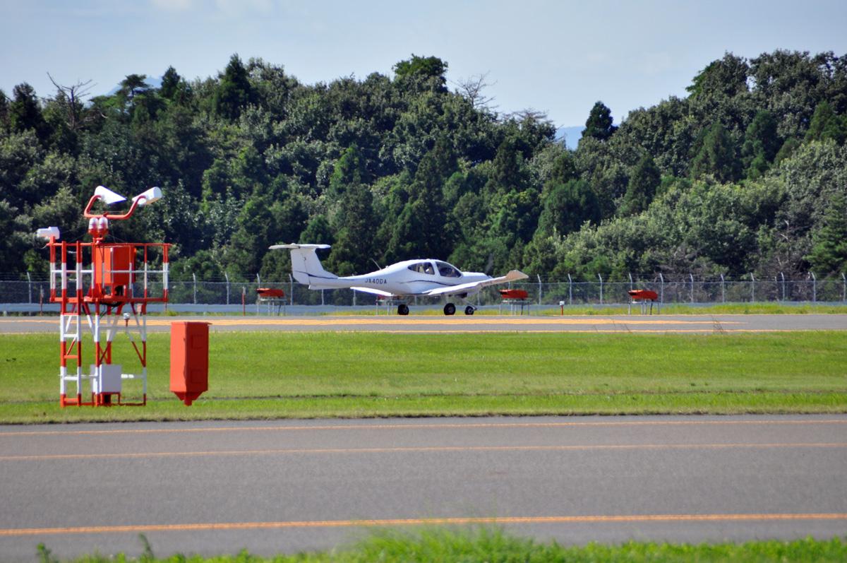 DA40の飛行訓練5