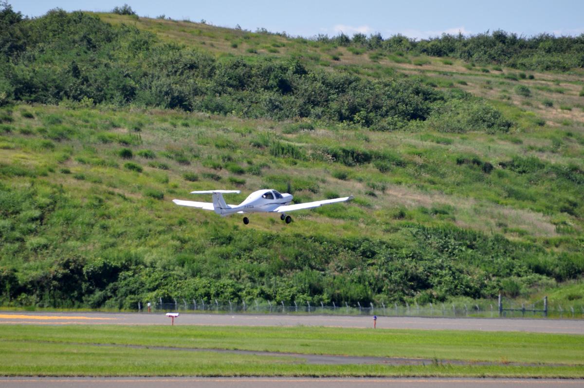 DA40の飛行訓練6