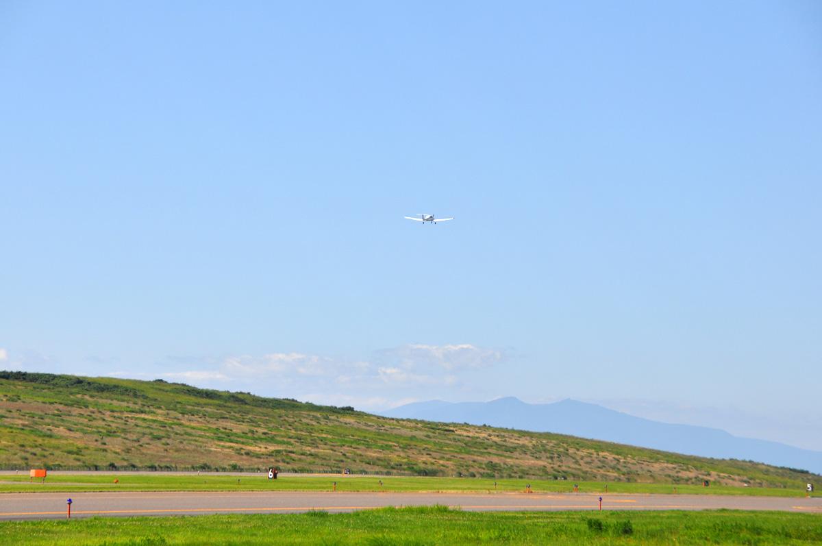 DA40の飛行訓練7