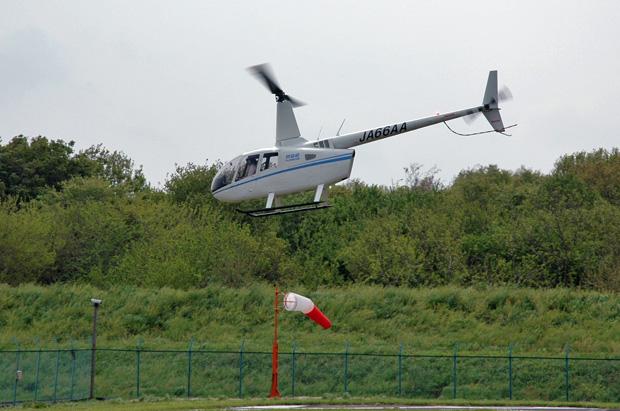 R66の操縦訓練2