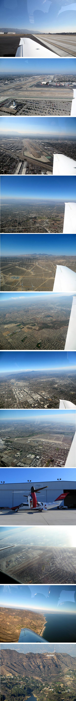 ロサンゼルスの空