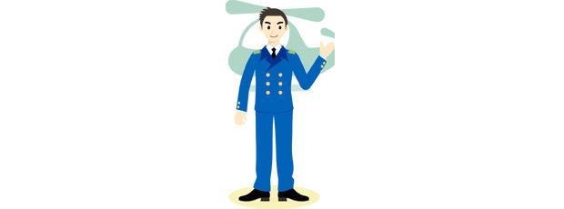 県警航空隊にヘリコプターパイロットとして就職しました